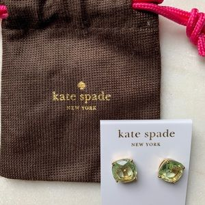 Kate Spade Gumdrop Earring - New WITH Care Bag